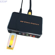 Original EZCAP card video capture convert 1080P HDMI YPbPr to USB Flash Disk directkly, no pc required. Free shipping