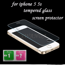 SWANDA For iphone 5s Tempered Glass for iphone 5s Screen Protector for iphone 5 Glass 9H2.5D 0.3mm Tough Screen Film 5 5S Glass