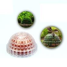 Mineral Stone Suspended Float Moss Ball Fish Tank Aquascape Crystal Red Shrimp Aquarium Live Plant Cultivation Holder Hide House