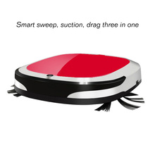 3 in 1 Suction Sweep Drag Robot Vacuum Cleaner for Home Automatic Sweeping Smart Dry Wet Cordless Auto Dust Sweeper Machine(China)