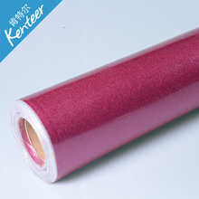 Q2-2 Kenteer Good Quality Thick Glitter Heat Transfer Vinyl For Clothing With 50cm*25m One Roll