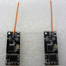 2pcs 100mw UART RS232 Wireless RF Transceiver 2.4G Module for Arduino UNO