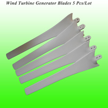 Hot Selling 5 PCS/Set 58 CM Length Wind Blades for 100W/200W/300W/400W Wind Turbine Generator(China)