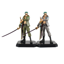 SAINTGI One Piece Luffy Army installed Roronoa Zoro New World Anime Figuarts Sanji Trafalgar PVC 22.5CM Boxed Limit Garage Toy