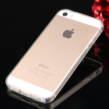 JOHCTOR Ultra Thin Clear Case For Apple iPhone 5 5S Se Case with Dust Plug Transparent Soft TPU Back Cover Coque Fundas Capinha