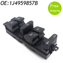 1J4959857D 1J4959857B Power Driver Side Window Switch for Bora Golf Seat Leon Skoda Superb for VW Golf Jetta Mk4 Passat B5 VR6