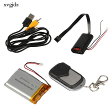 xvgjdz Mini Camera Full HD 1080P DIY Video Recorder Voice Recording Mini Control DVR Motion Detection Remote DV(China)