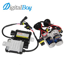 Buy Digitalboy HID Ballast Block 12V 55W Xenon HID Bulbs Kit 880 881 H27 Auto Car Headlight Lamp Super Bright Light Source 6000k for $19.98 in AliExpress store