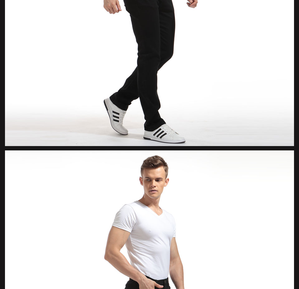 Alice & Elmer Pants Men Stretch Casual Pants For Men Slim Straight Pants Black Pantalones de hombre Jeans para homem 6
