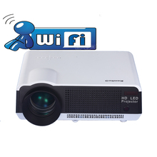 Revist 3200 Lumens  Built-in Android WiFi Red/blue 3D LCD Home Theater LED Projector Full HD 1280x800 HDMI AV USB SD