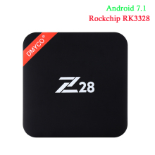 Buy Z28 TV Box Android 7.1 Rockchip RK3328 64-bit RK3328 4 Core 1GB+8GB 2GB+16GB 4Kx2K USB 3.0 2.4G WiFi 4k Media player Set-top box for $28.85 in AliExpress store