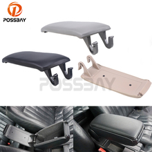POSSBAY Black/Gray/Beige Car Armrest Cover Center Console Lid Storage Box For Audi S4 C5 A6 1997-2005 Auto Replacement(China)