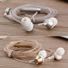 KST In-ear Earphones Practical Earphone with Microphone Metal  for iPhone /Samsung Mobile Phone MP3/4 for XiaoMi&Huawei