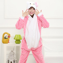 Hello kitty Onesies Pajamas Cartoon Animal costume onesies Pyjamas Unisex pijamas ,sleepwear, party clothes