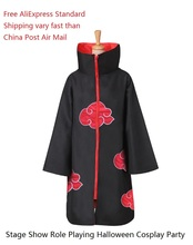 Cosplay Akatsuki Sasuke Itachi Costume Cloak Uniform Anime Halloween Costumes Naruto Cloak