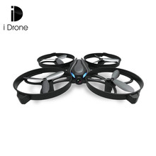 RC Drone Dron Mini 2.4GHz 4CH 6-axis Gyro Headless Mode Radio Control Drones One Key Return Flying Helicopter RTF Beginner Level(China)