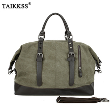 New Casual vintage Multifunctional fashion Canvas Travel Bag unisex Large Capacity Men Hand Luggage classic Travel Duffle Bags(China)