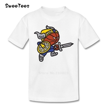 Vikings T Shirt Baby Cotton Toddler Short Sleeve Infant O Neck Tshirt Kid children's Clothing 2017 Funny T-shirt For Boy Girl