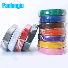 Panlongic 10 Meters UL1007 Electronic Wire 22awg OD1.6mm PVC Electronic Wire Electronic Cable UL Certification #22