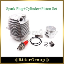 Pocket Dirt Bike 40mm Cylinder Head 10mm Piston L7T Spark Plug For 47cc 2 Stroke Engine Chinese Mini Quad ATV Quad 4 Wheeler(China)