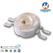 High Power 1W RGB LED Chip For Floor Lamp,Stage Lamp,Decorative Garden fencing Ligh