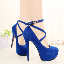 ASDS New High-heeled Shoes Woman Pumps Wedding Shoes Platform Fashion Women Shoes Red Bottom High Heels 11cm Suede