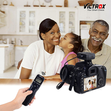 Viltrox JY-710 Camera Wireless Timer Remote Shutter Release Control Cable for Canon Nikon Pentax Panasonic Olympus