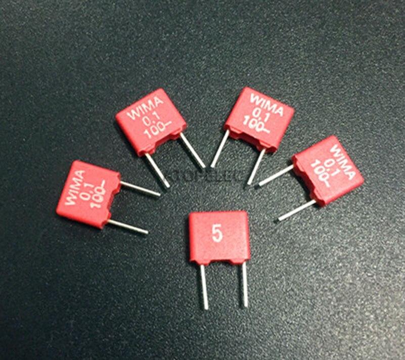 630 V 5/% Pich 10pcs-Wima MKS2 1000P 1000PF 10nF 5 mm Condensateur