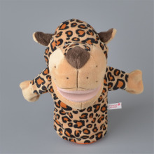 NICI Orange Spot Leopard Plush Hand Puppet, 25cm Baby Kids Plush Toy Gift Free Shipping