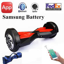 Electric Scooters Hoverboard 8 Inch Bluetooth Samsung Battery 2 Wheel Scooter Self Balancing Scooter Smart Balance Hover board