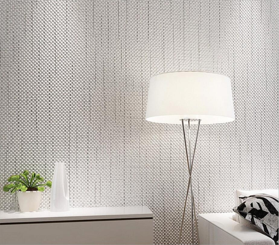 Beibehang Non-woven foam color wallpaper modern simple hotel hotel clothing store solid color relief 3d wallpaper for walls <br>