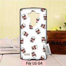Protective PC Black Mobile Phone Case For LG G4 case  Many Nutella Bottle Chocolate Sauce Funny