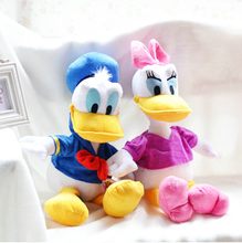 55cm 2pcs Genuine Donald and  Daisy Duck doll plush toy children's Day gifts , christmas gift free shipping