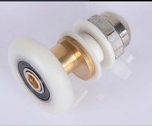 Shower Round Glass Door Rollers Shower Pulley for Sliding Door Wheel Diameter 22mm,23mm,25mm,27mm. 8pcs/lot