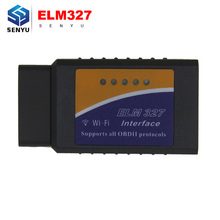 ELM327 V1.5 Bluetooth Wifi USB Switch OBD2 OBDII Auto Diagnostic Tool elm 327 v1.5 OBD OBD2 Scanner for Android/IOS High Quality