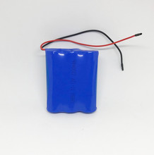 11.1V 12V 18650 Li-ion Rechargeable battery 2200mAh With protective circuit board