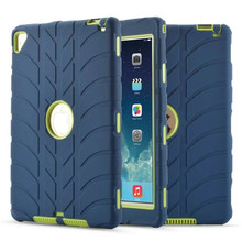 Case For iPad Air 2 Retina Kids Baby Safe Armor Shockproof Heavy Duty Silicone Hard Cover For iPad 6 Table Case 9.7inch