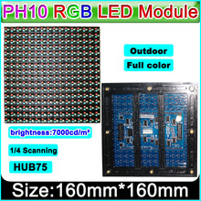 P10 Outdoor Full Color LED display module Strongly recommended,Video ,Graphic, Picture, Text Advertising led display Panel.(China)