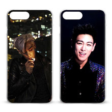 BigBang T.O.P K pop Fashion Coque Mobile Phone Case Cover Shell Bags For Apple iPhone 8 7 7s Plus 6S 6 Plus 5 5S SE 4S 4