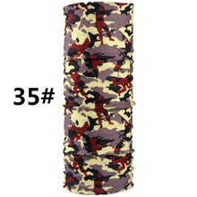 2017 Fashion Cool Tactical Bandana Seamless Magic Hijab Bandanas Headwear Scarf Camouflage Headband Neck Tube Ring Shawl Wrap(China)