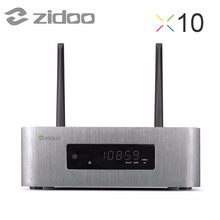 ZIDOO X10 Android6.0 TV Box Quad Core 2G/16G Dual Band WIFI OpenWRT(NAS) Dual System 1000M LAN HDR USB 3.0 SATA 3.0 Media Player