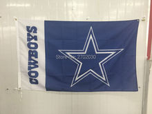 Bule Star Flag Dallas Cowboys Flag World Series 2016 Football Team Sport Banner 3ft X 5ft Jersey Dallas Cowboys Flag(China)
