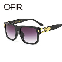 OFIR New Fashion Square Sunglasses Men Retro Brand Designer Sun Glasses for Women Hand Making gllasses frmae UV400 Oculos(China)