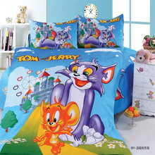 mavelous tom boys bedding set 2/3pcs kit of duvet cover bed sheet pillow case kit/twin/single