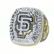 New arrival 2014 2015 San Francisco Giants World Series CHAMPIONSHIP RING BUMGARNER Replica as fan gift for men(China)