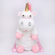 55cm Cute Unicorn Lovely Cartoon Movies&TV Character Plush Backpacks Stuffed Toy Anime Doll School Unisex Gift Girls Christmas(China)