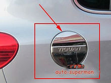 Chrome fuel door gas cover tank cap For VW tiguan 2009 2010 2011 2012 2013 2014