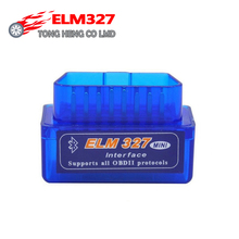 Hot Super Mini ELM327 Bluetooth Interface V2.1 OBD2 II Auto Diagnostic Tool ELM 327 Work ON Android Torque/PC