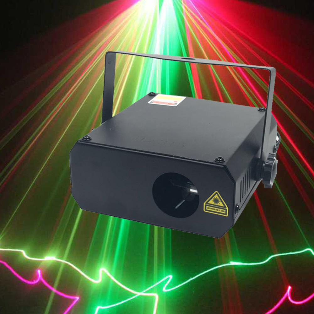10Pcs Christmas Laser Projector DJ LED Stage Lights 150MW RG Two Color Beam Laser Light For Party Wedding Disco Lighting Shows<br>