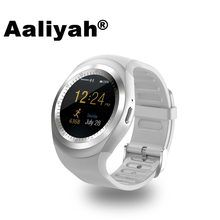 Aaliyah Y1 Smart Watchs Round Support Nano SIM &TF Card Whatsapp Facebook Men Women Business Smartwatch IOS Android - Customer is God store